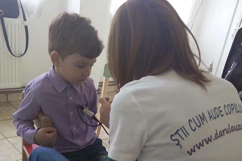 Asociația Darul Auzului – Știi cum aude copilul tau?